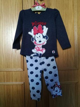 conjunto Disney Minnie