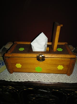 cajita toallitas humedas