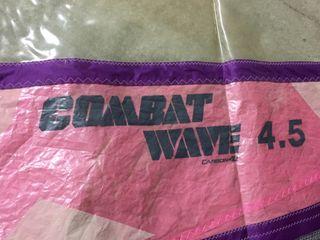 Vela windsurf combat wave 4.5