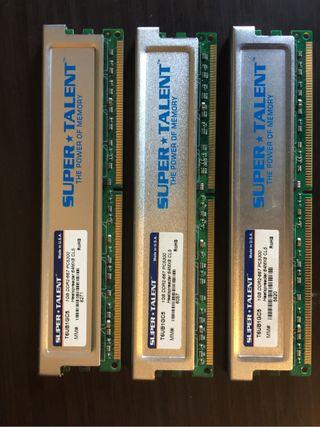 Memoria ram 1GB DDR2 667
