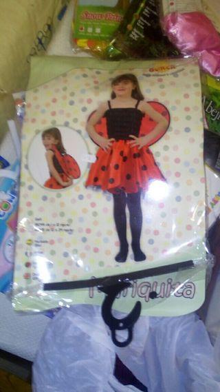Disfraz Mariquita talla 12/24 meses