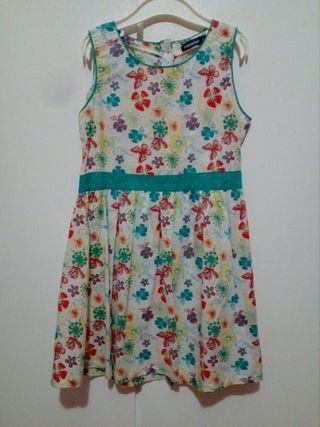 vestido de niña talla 8 años