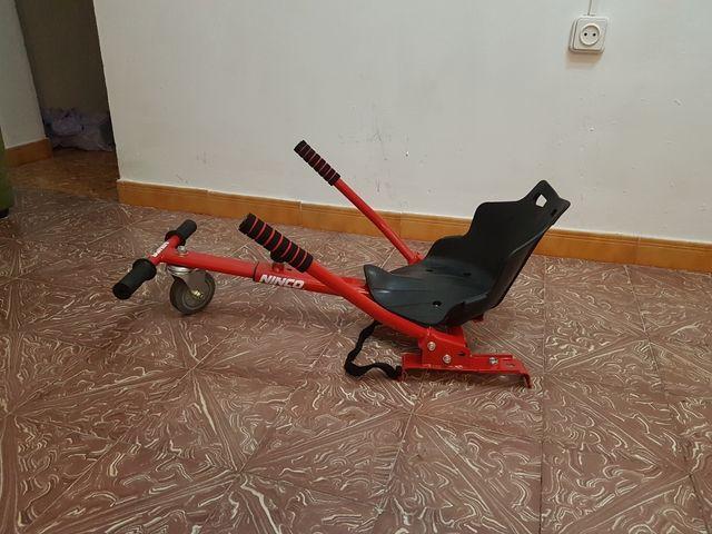 Silla para patin electrico de segunda mano por 40 en utiel wallapop - Silla de patin electrico ...
