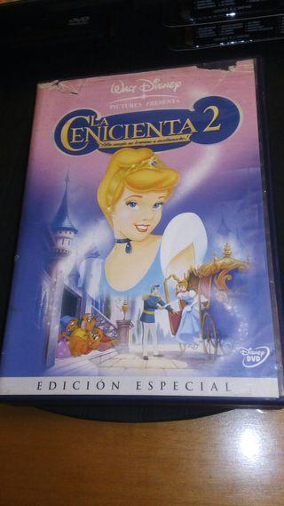 dvd la cenicienta 2 ed especial