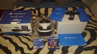 Playstation VR+ camera+ VR worlds