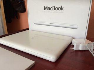 Vendo macbook blanco