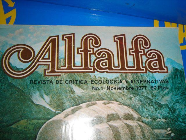 ALFALFA nº1 descatalogada revista 1977