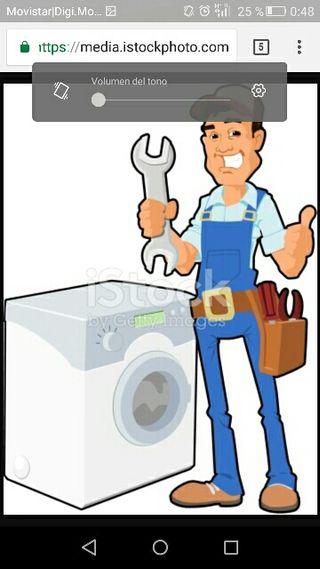 Reparaciones de lavadoras secadoras y televisiones