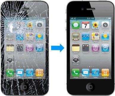 CAMBIO PANTALLA IPHONE 4, 5, 6, 7, 8, S Y PLUS.