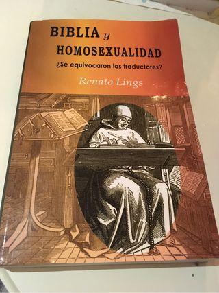 Libro Biblia y Homosexualidad