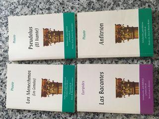 Pack 4 libros grecolatinos