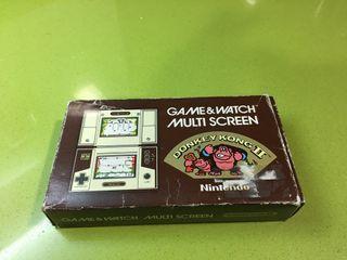 Game watch Donkey Kong 2 Nintendo,gakken,ps,spectrum,msx,Bandai,sega,casio,