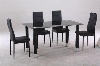 Mesa comedor con 4 sillas 129