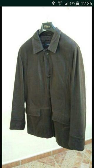 chaqueta de piel talla 50
