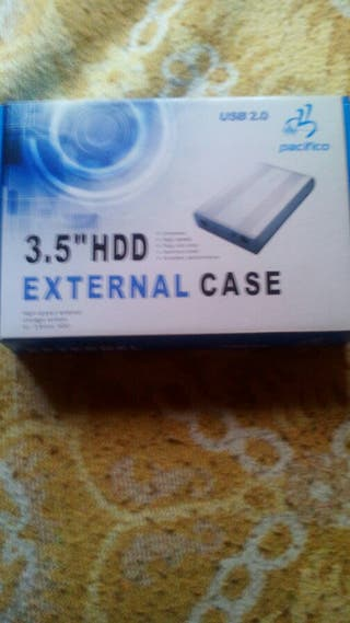 "caja para disco duro 3.5"" externo"