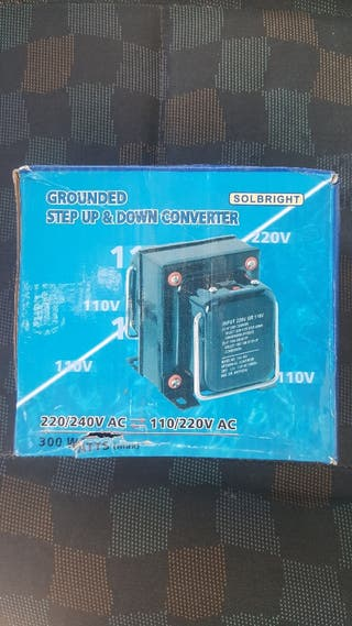 transformador 110v-220v y viceversa