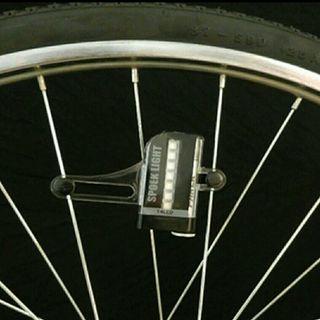 luz para rueda bicicleta