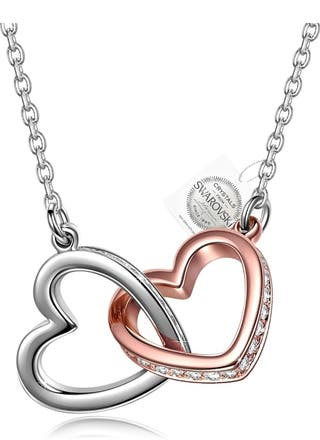 San Valentín collar SWAROVSKI oferta del dia