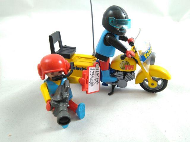 Playmobil moto tv de segunda mano por 15 en arjona for Playmobil segunda mano