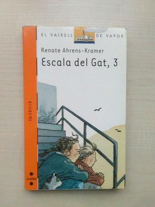 Libro Escala el gat, 3. Renate Ahrens Kramer.