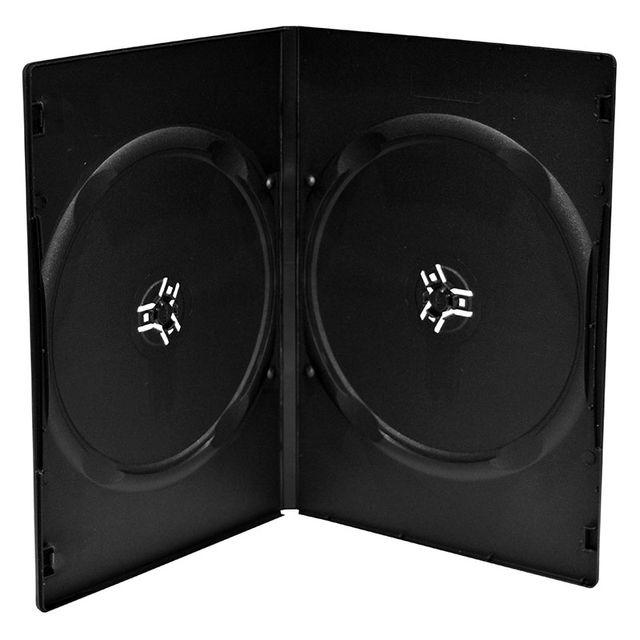 20 estuches DVD doble capacidad