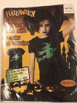 Camiseta niña Bruja