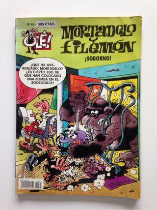 Tebeo Mortadelo y Filemón