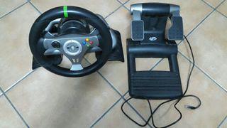 volante y pedales xbox