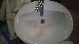Lavabo ROCA con grifo GROHE