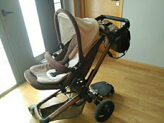 Carro bebé con capazo y maxicosi