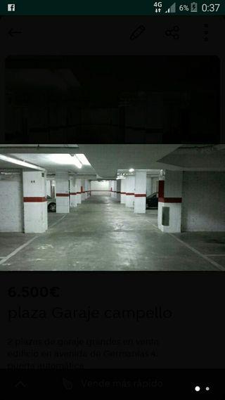 6 plazas garaje Banus