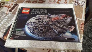 Libro de montaje set Lego 75192 Halcon Milenario