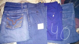lote pantalones chica