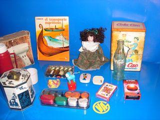 Lote vintaje-articulos-coleccionismo