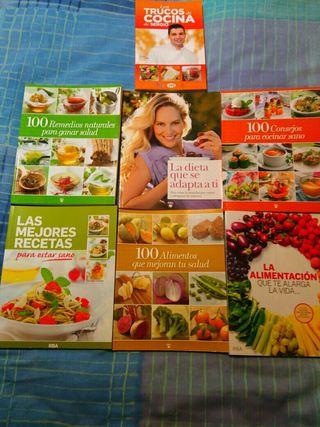 colección libros vida y alimentación saludable
