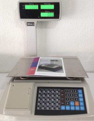 Bascula Balanza 4 Vendedores Nueva Ticket Garantia