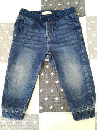 Vaquero azul invierno Zara Kids, talla 18-24 meses
