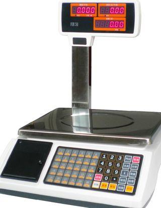 Balanza Peso Bascula Con Torre Y Ticket Nueva Configurable