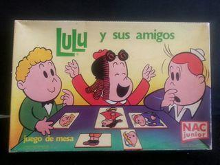 juego se mesa la pequeña lulu años 80