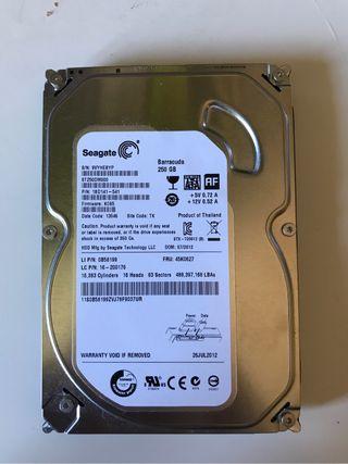 Disfo duro 250 GB