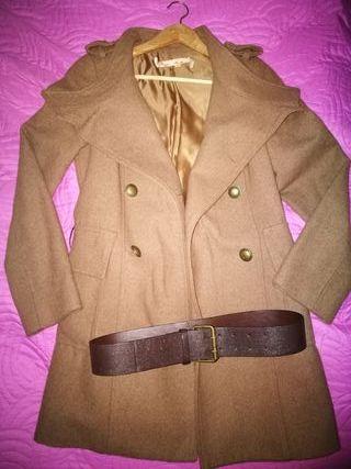 Abrigo corto estilo ruso GreenCoast (talla M).