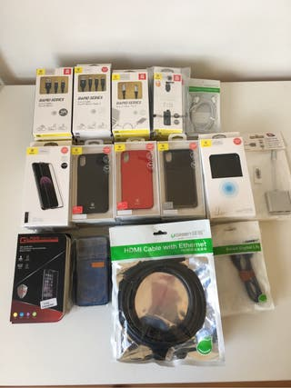 LOTE ACCESORIOS IPHONE X