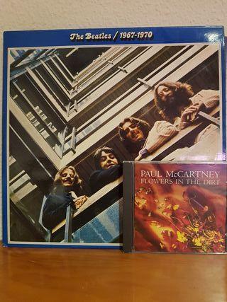 The Beatles 1967-1970 Edición limitada disco azul