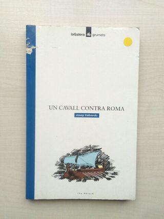 Libro un cavall contra Roma. Josep Vallverdu.