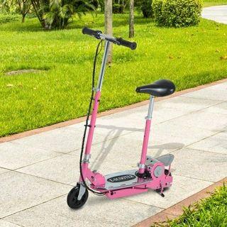 patinete electrico rosa