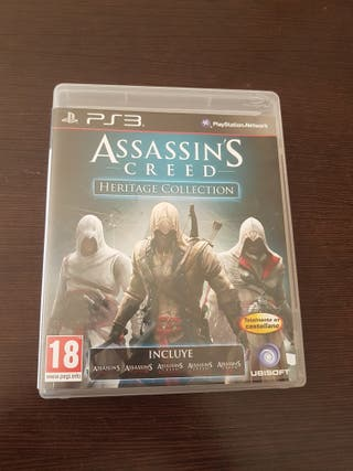 assassins creed heritage collection pal ps3
