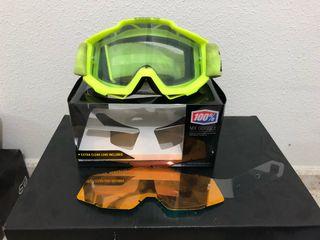 Gafas motocross 100% accuri