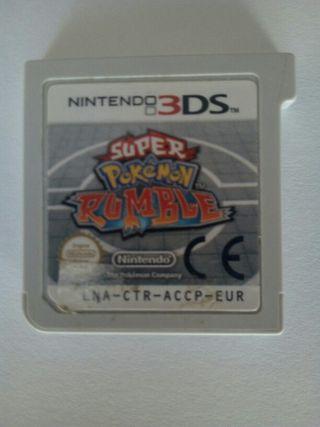 Videojuego Super Pokémon Rumble (3DS)
