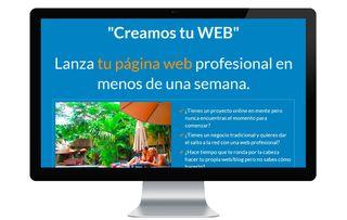 Diseñamos Tu Página web de empresa/ Economico