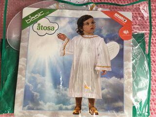 Disfraz de angel bebe 12-24mes